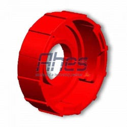 PowerCure Spare Mixer Cap Red