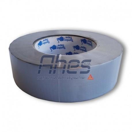 Páska maskovací PE stříbrná standard 38mm 50m