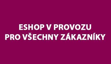 eShop v provozu pro vševhny zákazníky